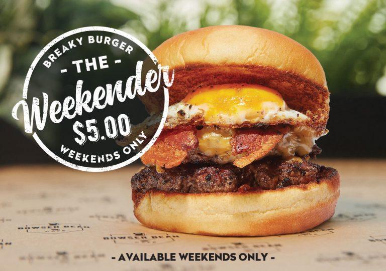 The Weekender $5
